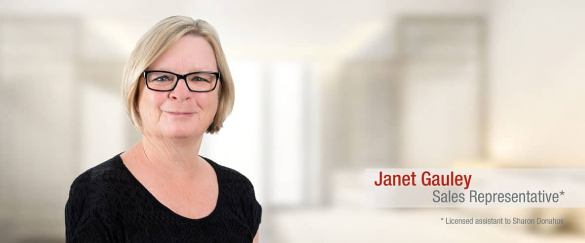 Janet-Gauley REAL ESTATE AGENT QUINTE, ONTARIO